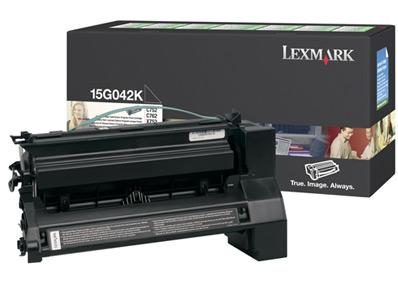 Lexmark 15G042K Laser cartridge 15000pagine Nero cartuccia toner e laser