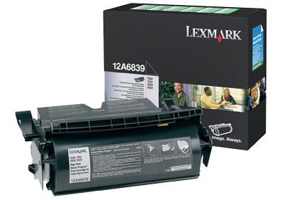 Lexmark 12A6839 Laser cartridge 20000pagine Nero cartuccia toner e laser