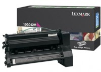 Lexmark 15G042M Laser cartridge 15000pagine Magenta cartuccia toner e laser