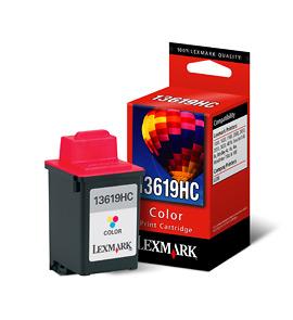 Lexmark 13619HC Ciano, Giallo cartuccia d