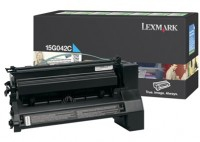 Lexmark 15G042C Laser cartridge 15000pagine Ciano cartuccia toner e laser