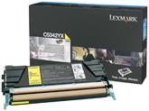 Lexmark C5342YX Laser cartridge 7000pagine Giallo cartuccia toner e laser