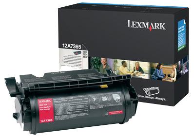 Lexmark 12A7365 Laser cartridge 32000pagine Nero cartuccia toner e laser