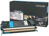 Lexmark C5342CX Laser cartridge 7000pagine Ciano cartuccia toner e laser