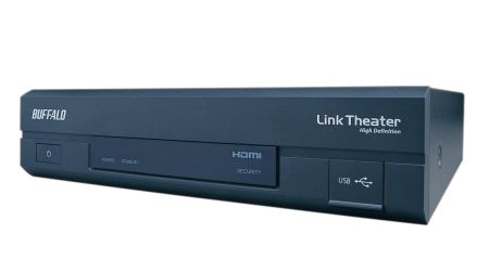Buffalo LT-H90LAN Wi-Fi Nero lettore multimediale