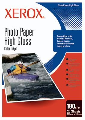 Xerox Photo Gloss Paper (180 gsm, 20 sheets, size A4) carta fotografica