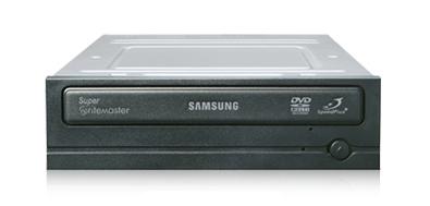 Samsung 22X SpeedPlus SATA internal DVD-Writer Interno Nero lettore di disco ottico