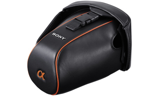 Sony Genuine Leather Soft Carrying Case Nero