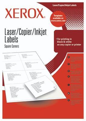 Xerox Labels Multi-Use 24UP 70x37 mm 2400pezzo(i) etichetta autoadesiva