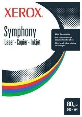 Xerox Symphony 80 A4, Blue paper CW Blu carta inkjet