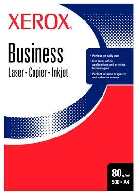 Xerox Business 80 A4 DIN 4 HOLE, White paper Bianco carta inkjet