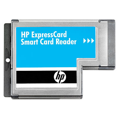 HP ExpressCard Smart Card Reader ExpressCard Metallico lettore di card readers