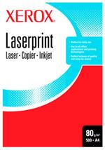 Xerox LASERPRINT B 80 A4 WHITE PAPER carta inkjet