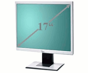 "Fujitsu SCENICVIEW Series B17-5 17"" HD monitor piatto per PC"