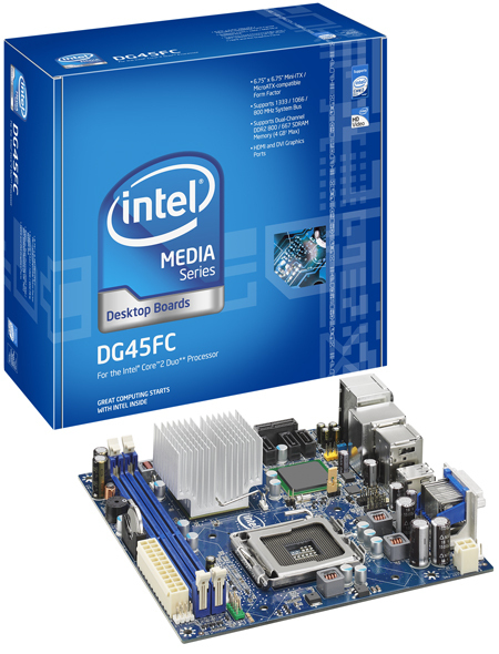 Intel Desktop Board DG45FC LGA 775 (Socket T) Mini ITX scheda madre