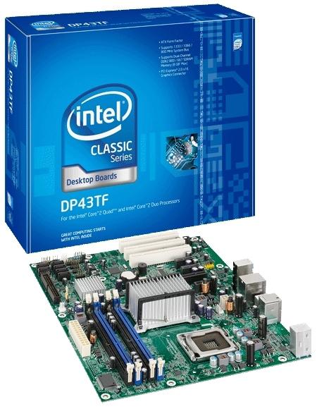 Intel Desktop Board DP43TF, Sockel 775, DDR2, PCIe, ATX LGA 775 (Socket T) ATX scheda madre