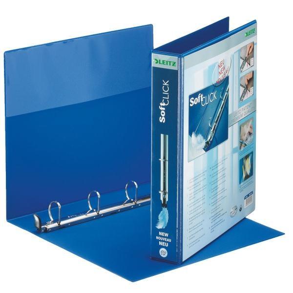 Leitz Presentation Binder Premium Blue 4 x 30 mm Blu raccoglitore ad anelli