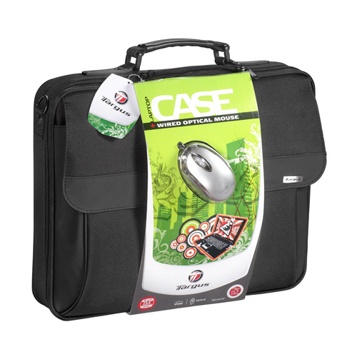 "Targus Laptop Case & Wired Optical Mouse 15.4"" Valigetta ventiquattrore Nero"