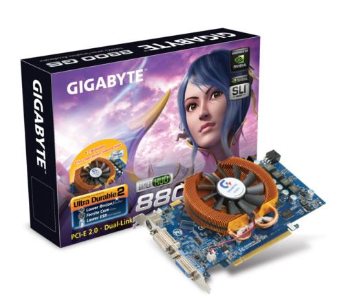 Gigabyte GV-NX88G384H GeForce 8800 GS GDDR3 scheda video