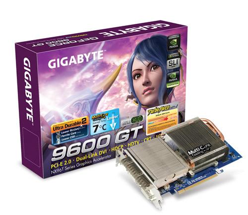 Gigabyte GV-NX96T1GHP GeForce 9600 GT 1GB GDDR3 scheda video
