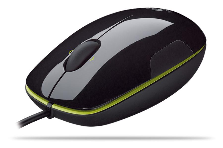 Logitech LS1 USB Laser Nero mouse