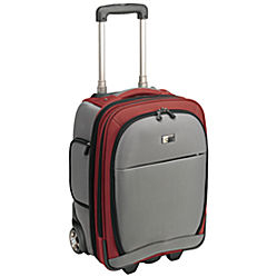 "Case Logic 16"" Lightweight Upright Roller grey/red 16"" Trolley case Rosso"