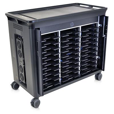 HP 30-NB Managed Charging Cart Computer portatile Multimedia cart Nero