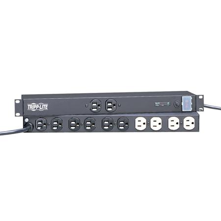 Tripp Lite IBAR12/20ULTRA Isobar Surge Suppressor 12AC outlet(s) 120V 4.6m Nero protezione da sovraccarico