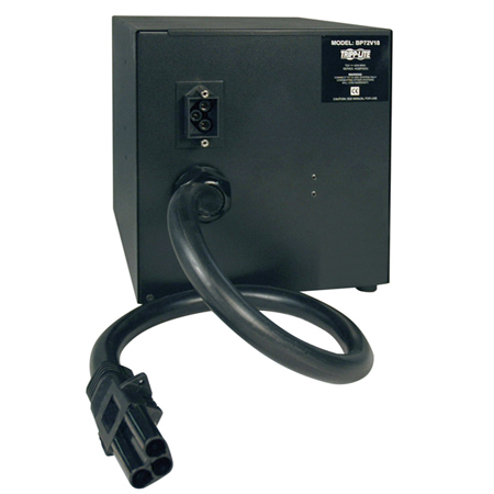 Tripp Lite BP72V18 UPS External Battery Pack 3000VA Nero gruppo di continuità (UPS)