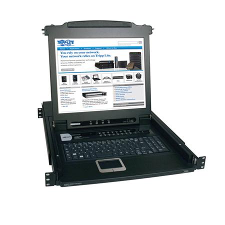 "Tripp Lite B020-016-17 17"" 1280 x 1024Pixel Nero console a rack"