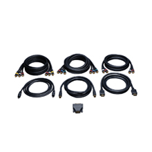 Tripp Lite Audio/Video - HDTV Connection Kit 1.8m Nero