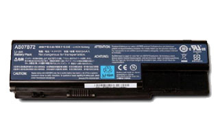 Acer 6 cell 4400mAh Lithium-Ion battery Ioni di Litio 4400mAh batteria ricaricabile