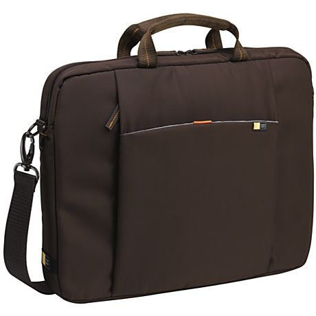 "Case Logic 15.4"" Laptop Attaché 15.4"" Custodia a tasca Marrone"
