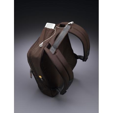 "Case Logic Urban Backpack Brown 15.4"" Zaino Marrone"