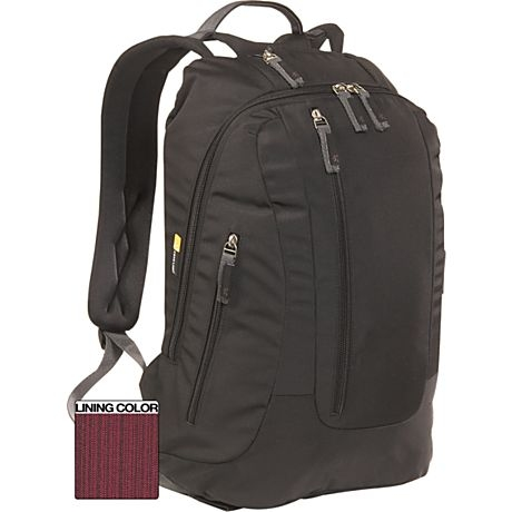"Case Logic XN Backpack 15.4"" Zaino Nero"