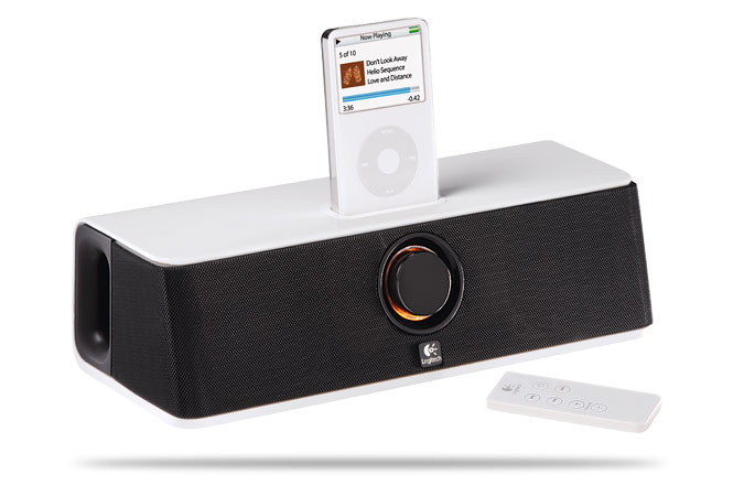 Logitech Pure-FiT Express docking station con altoparlanti