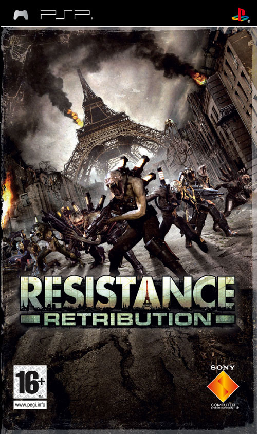Sony Resistance: Retribution, PSP PlayStation Portatile (PSP) Inglese videogioco