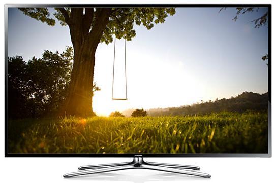 """Samsung UE55F6400AY 55"""" Full HD Compatibilità 3D Smart TV Wi-Fi Nero, Argento LED TV"""