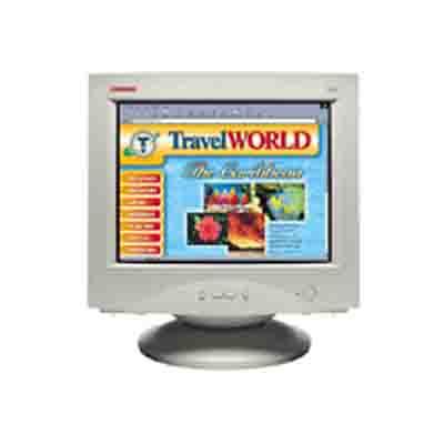 "HP S510 15"" 1024 x 768Pixel monitor CRT"