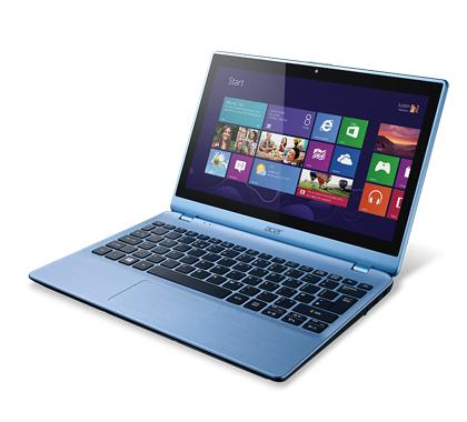 """Acer Aspire 122P-61454G50nbb 1GHz A6-1450 11.6"""" 1366 x 768Pixel Touch screen Blu Computer portatile"""