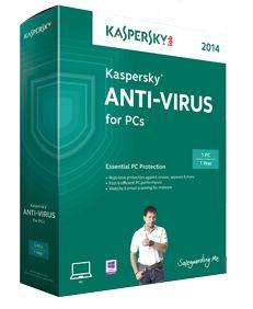 Kaspersky Lab Anti-Virus 2014, 1U Full license 1utente(i) ITA