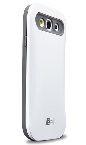Case Logic CLS3-305 Cover Grigio, Bianco custodia per cellulare