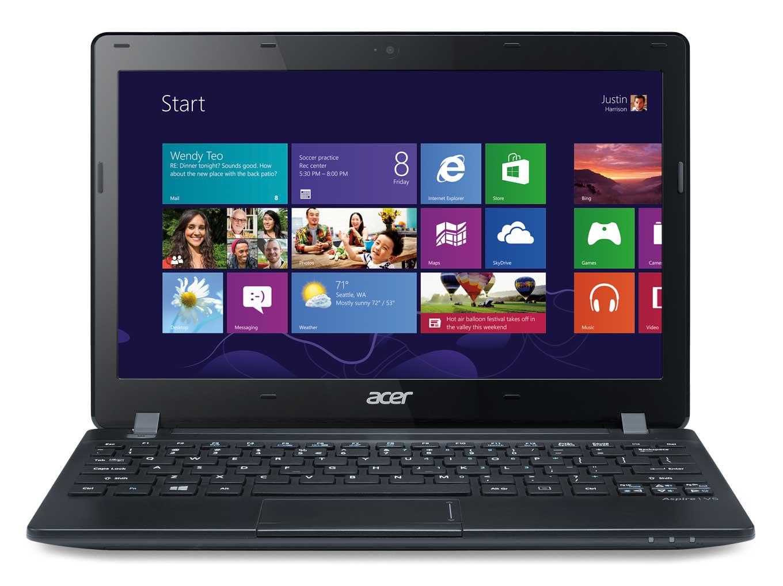 "Acer Aspire 123-12102G32nkk 1GHz E1-2100 11.6"" 1366 x 768Pixel Nero Computer portatile"