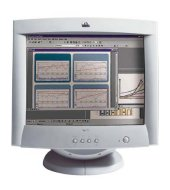 """HP crt color monitor 72 17"""", 15.9"""" viewable, tco99 certified monitor CRT"""