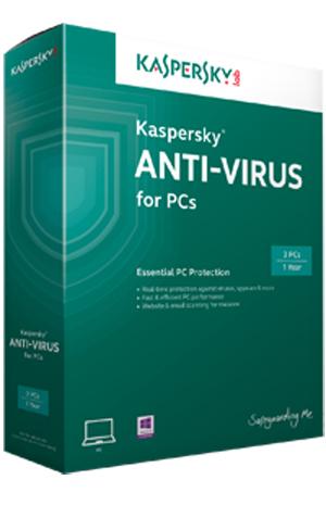 Kaspersky Lab Anti-Virus 2014, 5-9u, 2Y, Base RNW Base license 5-9utente(i) 2anno/i