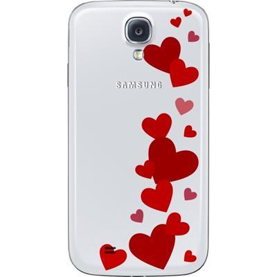 """Samsung ENMSVCUORI-EF-FI950BWEGWW 5"""" Cover Rosso, Bianco custodia per cellulare"""