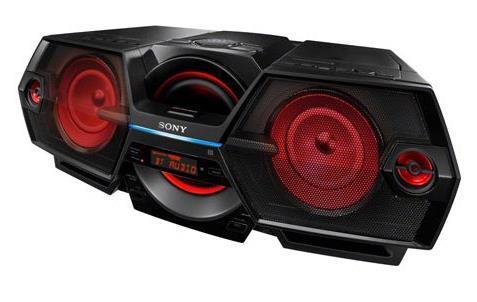 Sony ZS-BTG909 20W Nero, Rosso radio CD
