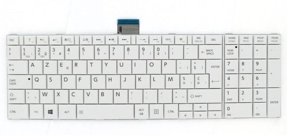 Toshiba H000044850 Tastiera ricambio per notebook