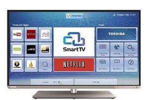 "Toshiba 48L5453DB 48"" Full HD Compatibilità 3D Smart TV Wi-Fi Nero LED TV"