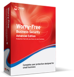 Trend Micro Worry-Free Business Security 9 Advanced, RNW, 3m, 101-250u